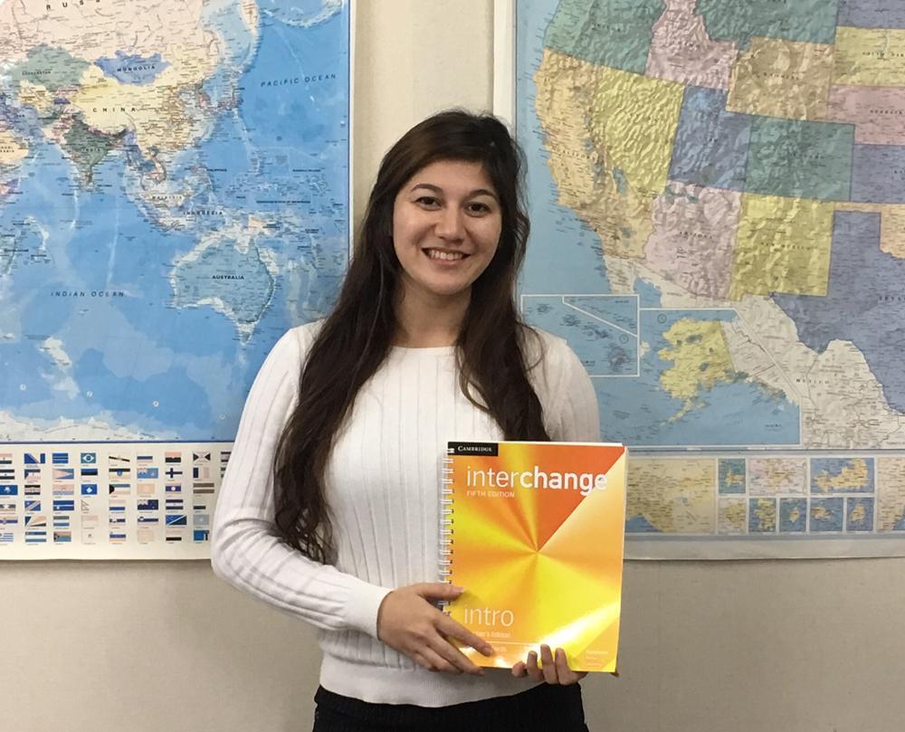 レアンドラ•イト 先生 (Leandra Ito) はひたちなか校のメインの先生です。