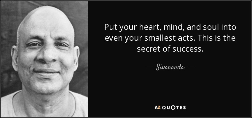 Famous Quote Friday: Sivananda Saraswati