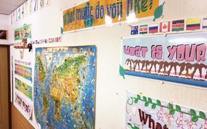 フリーダム英会話子供教室内風景
